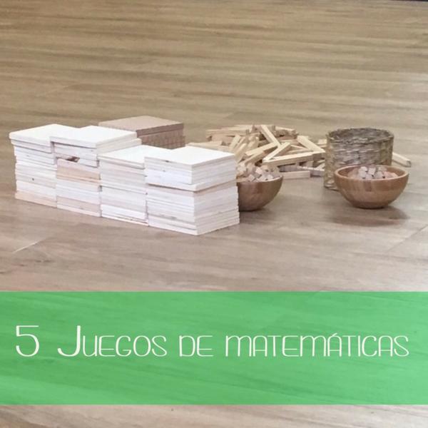 5 juegos para trabajar las matemáticas