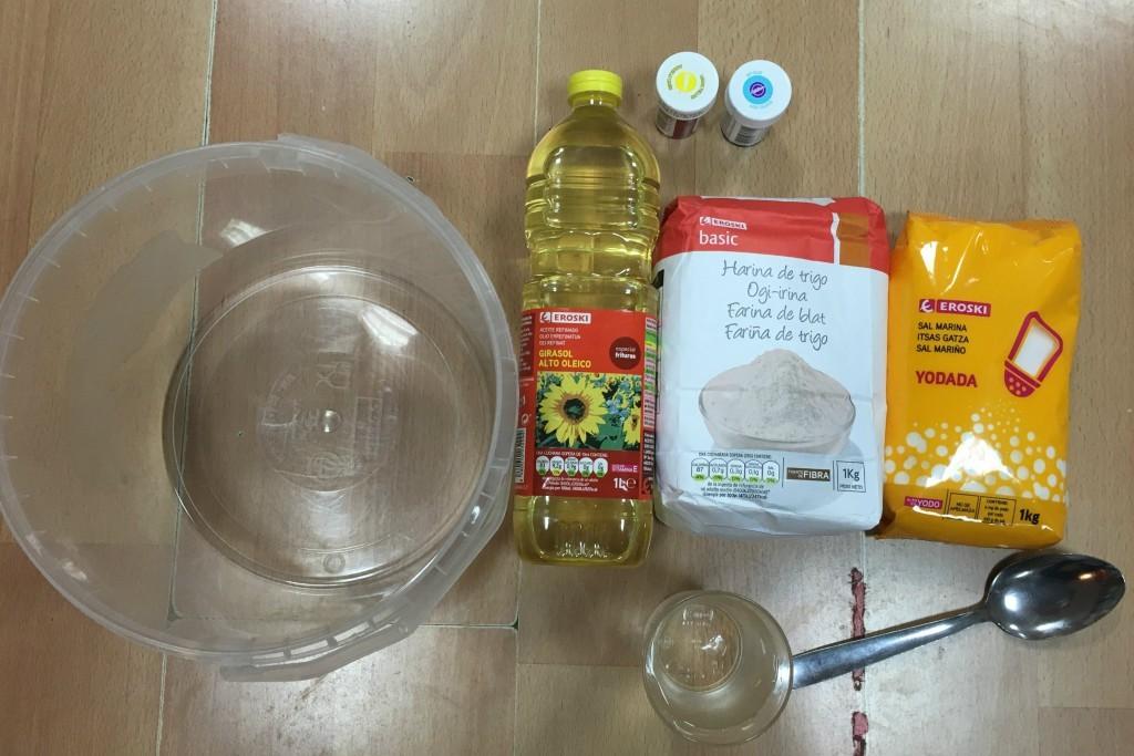 materiales para hacer plastilina casera