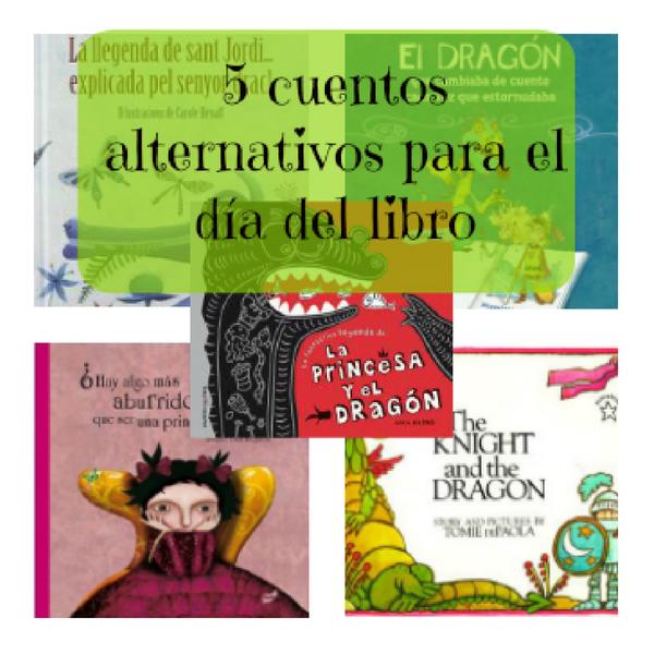 5 cuentos alternativos para el día del libro