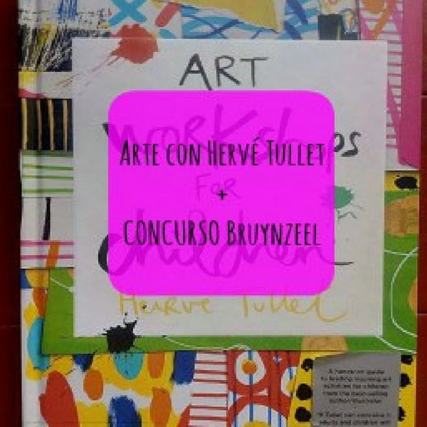 Arte con Hervé Tullet + CONCURSO Bruynzeel