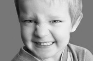 snarling-child