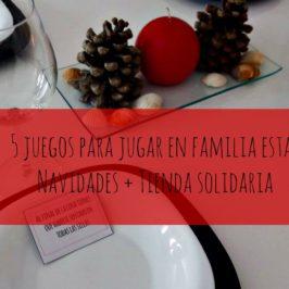 5 juegos para las cenas de Navidad+ Tienda solidaria