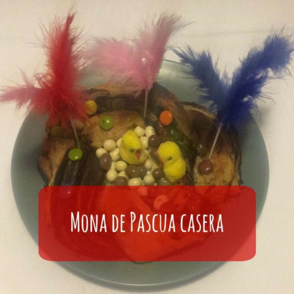 Mona de Pascua casera