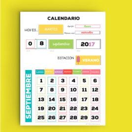 Calendario de Aula