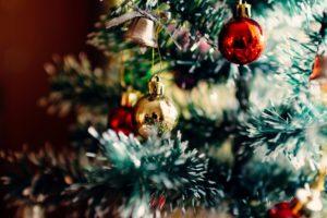 muñeco de nieve árbol de navidad
