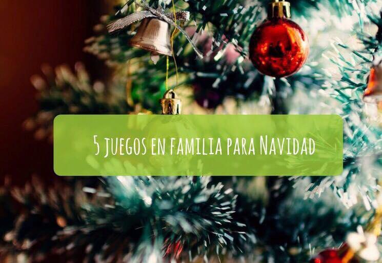 5 Juegos En Familia Para Navidad Dos Profes En Apuros