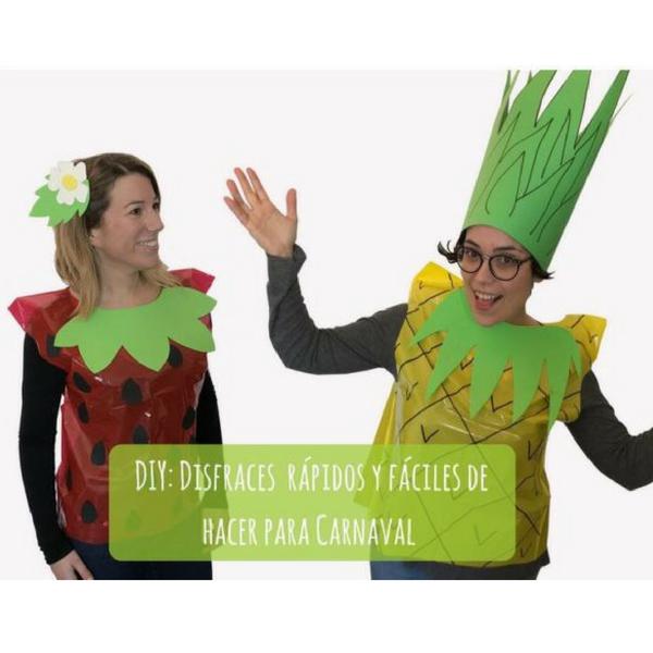 DIY: Disfraces  rápidos y fáciles de hacer para Carnaval