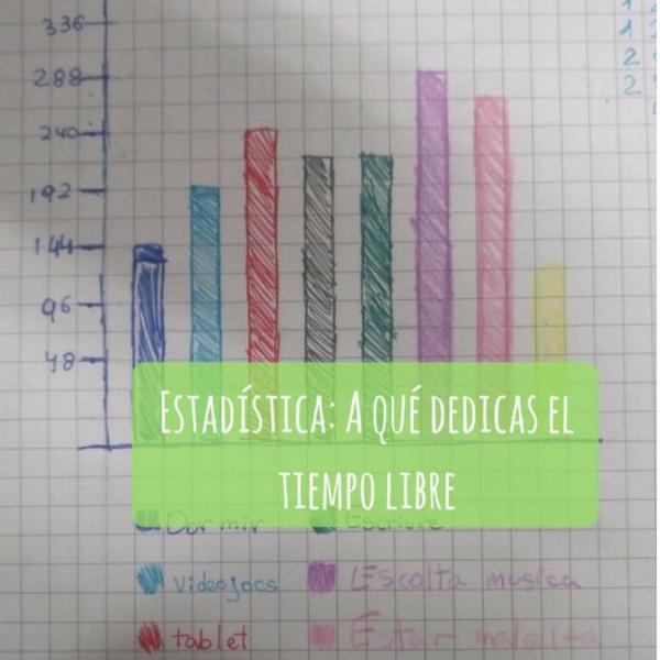 Estadística: ¿a qué dedicas el tiempo libre?