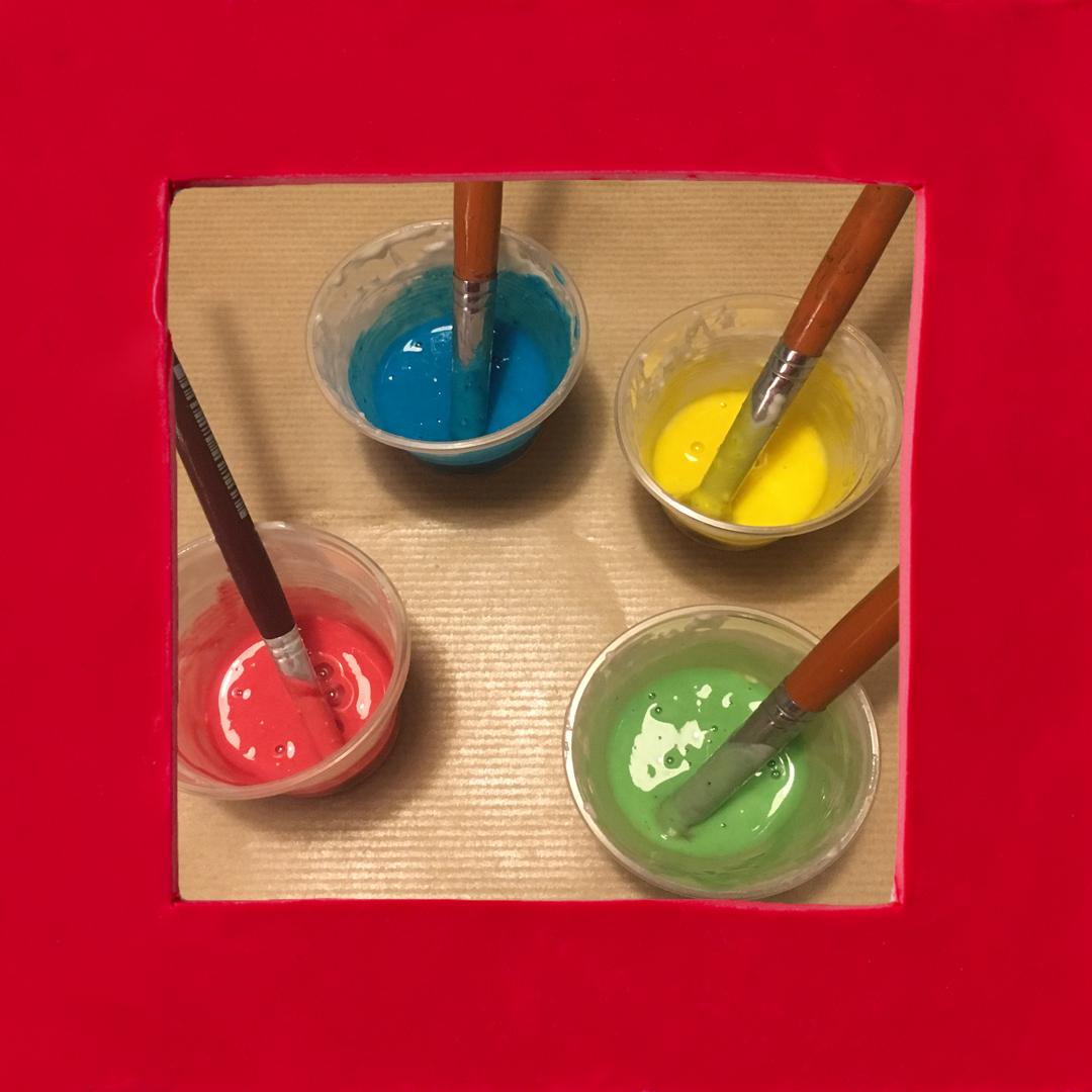 DIY: Pintura con volumen