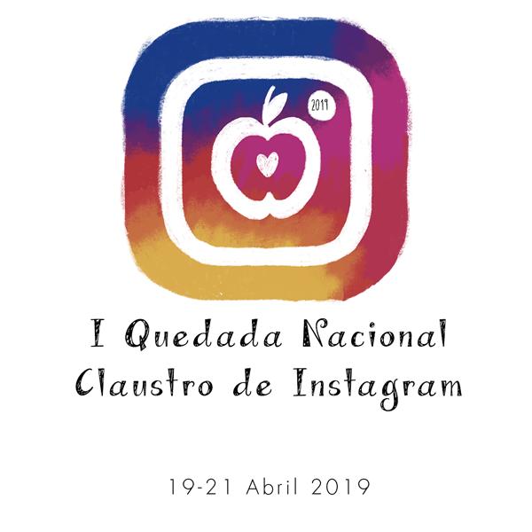 Logo Quedada Nacional Claustro Instagram