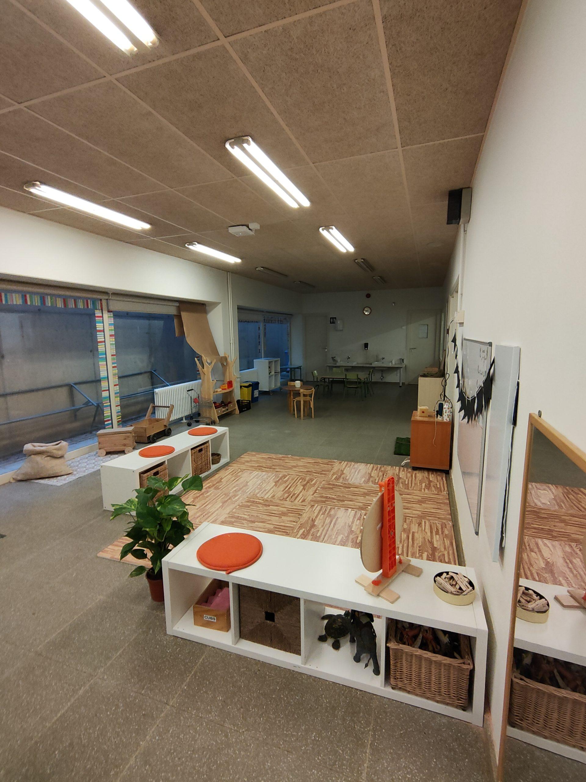 Transformando espacios en infantil