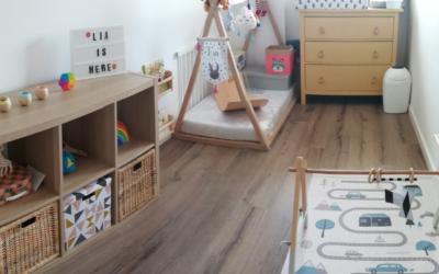 Habitación Montessori Low Cost